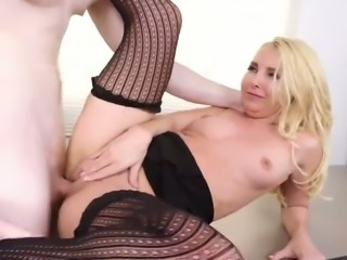 Lecherous lady boss Aaliyah Love is fucked by new horny employee
