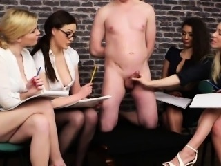 Servant gets his cock teased