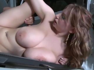 Big floppy car fuck
