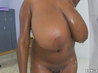 the biggest black tits you have ever seen