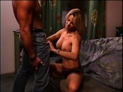 Big tits blonde pornstar ravished doggystyle while yelling