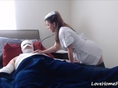 Horny Patient Gets Healed By A Naughty Amateur Nurse