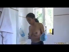 hot new maid needs extra money