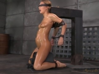 Oiled chick and the rough treatment that she will never forget