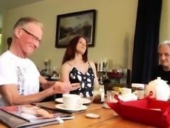 Old woman big tits and hentai old man Minnie Manga munches b