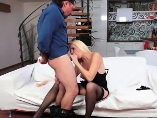 European cougar fucked by hard cock