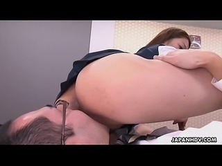 Office lady gets the best sixty nine for her boss PornWebcamZ.com