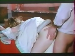 Naughty classic French maids having orgy with lords