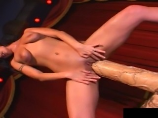 Largest sex toy in history is just the thing that Autumn Haze needed