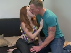 Hot tempered red haired bitch Amarna Miller enjoys having crazy sex