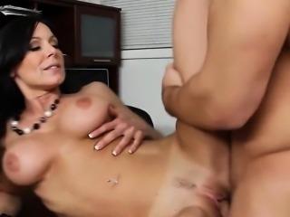 Sexy Big Tit MILF Boss Fucks Hard Kendra Lust