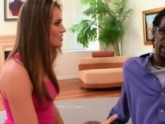 Tori Black is fucked by her step dads big black dong