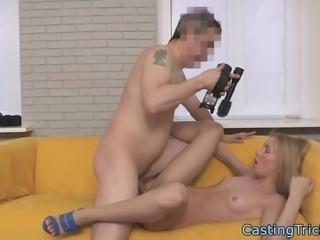 Smalltitted eurobabe filmed on sextape