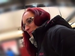 Enchanting czech chick gets tempted in the mall and banged i