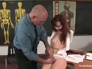 Trinity Post is getting humiliated by her teacher