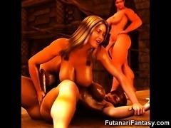 Hot 3D Futanari Babes!