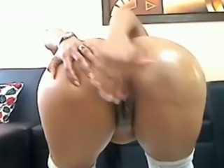 This hot cam slut really gets off with all the attention to her tits and ass