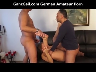 GanzGeil.com 2 cocks sharing a wife