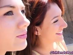 Teen lesbian pov fingered