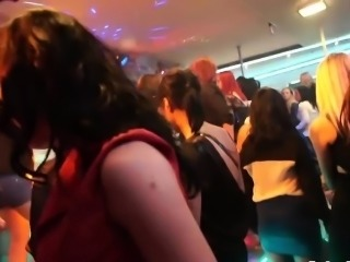 Lusty bitches pleasure boners at the club