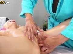Lana Sweet is one of our loyal customers, so she gets special massage in our...