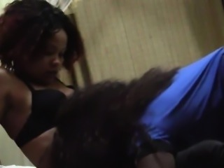 Amateur African lesbians licking shaved pussy