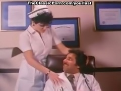 Lustful nurse Aurora fucks DR.Ron Jeremy in his office