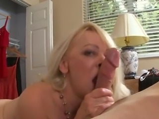 blonde granny get fucked by her toy boy