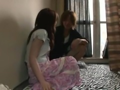 Sweet Saya Yukimi wants to be ravished by kinky hunks' tools