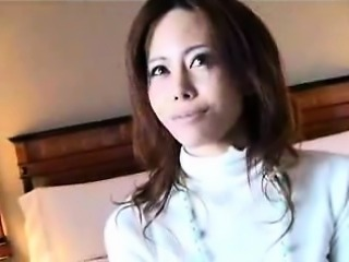 Elegant Japanese lady with marvelous big hooters wants to b