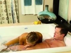 Asian masseuse cumshot