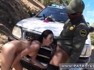 Tijuana whore patrol Latina Babe Fucked By the Law
