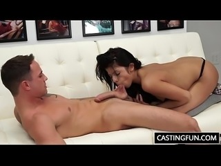 Castinng Penetration For Teen Sadie Pop