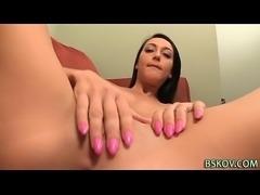 Teen pornstar rides cock