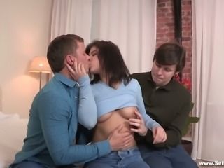 As long as her man enjoys a cuckold fetish she is ok with it