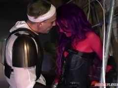 horny bounty hunter meets an alien @ star wars underworld: a xxx parody