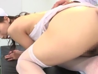 Shiho is a sexy nurse whose pussy is always hungry for some dicking
