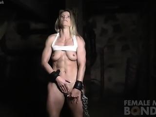 Claire Masturbates While Restrained