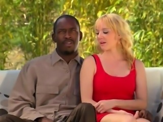 Interracial amateur couple wants to fuck in swinger orgy
