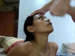 White Guy Cums All Over Indian Girl - BasedCams.com
