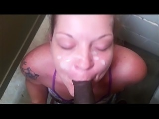 Sloppy blowjob after messy facial cumshot load PornWebcamZ.com