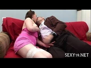 Young babe having wild fucking