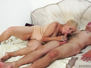 Blonde gets skull slammed for your viewing enjoyment