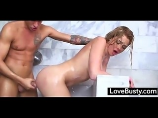 LoveBusty.com - germany Skyla Novea Big Breasted Bitch Banged Under The shower