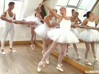 Cayla Lyons, Evelyn Dellai, Vinna Reed Pleasing the ballet teacher