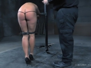 Since she's been very naughty it's time for the BDSM punishment!