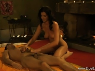 A Relaxing Body And Cock Massage