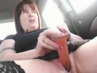 In Automobile By DEB 985 Milf In Stockings