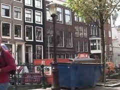 Dutch hooker doggystyled until cumontits