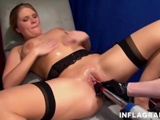 Fisting the sexy German cuckold Milf